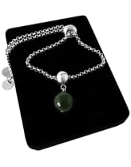 "Браслет ""Charm Light Platinum Jade"""